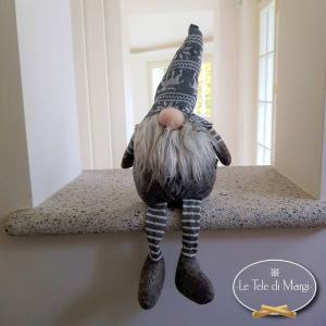 Gnomo Tirolese Nasone con gambe