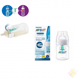 Avent Philips biberon Anti-colic con valvola AirFree 125 ml