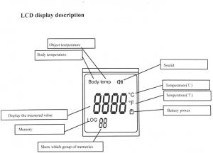 Termometro a infrarossi – senza contatto