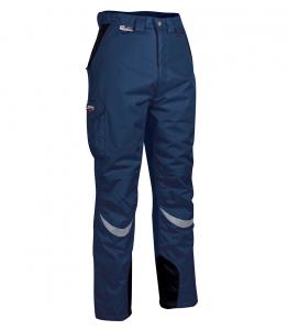 Pantaloni da lavoro invernali imbottiti Cofra Frozen - Blu Navy