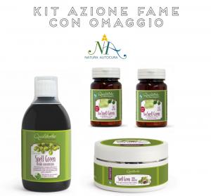 Kit Azione Fame con OMAGGIO inserisci il CODICE: KITNATURAUTOCURA IN OMAGGIO SNELL GREEN 500 ml in fluido concentrato