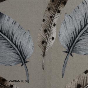 Copripiumino Matrimoniale 255x205 cm con 2 Fodere per Cuscini Letto 50x80, Duvet con Rivestimento Fantasia, Parure 100% Raso Puro Cotone | PLUMES