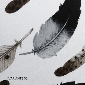 Trapunta Matrimoniale 270x270 cm con Rivestimento Fantasia, 100% Raso Puro Cotone, Imbottito in Morbida Microfibra 100% Poliestere, Tessuto IPOALLERGENICO | PLUMES