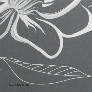 Set Lenzuola, Trapunta e/o Copripiumino Matrimoniale, Decorazione Floreale, Morbido 100% Raso Cotone Naturale | BRISTOL