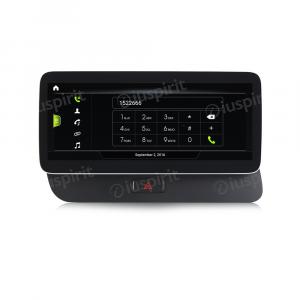 ANDROID navigatore per Audi Q5 2009-2017 MMI 3G 10.25 pollici 4GB RAM 64GB ROM Octa-Core CarPlay Android Auto Bluetooth GPS WI-FI