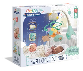 Giostrina per lettino Sweet Cloud Cot Mobile Clementoni