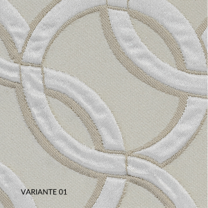 Trapunta Matrimoniale 270x270 cm con Rivestimento Jacquard Fantasia, Imbottita in Morbida Microfibra 100% Poliestere, Tessuto IPOALLERGENICO | CANNES