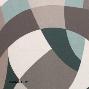 Trapunta Matrimoniale 270x270 cm con Rivestimento Fantasia Digitale, 100% Raso Puro Cotone, Imbottito in Morbida Microfibra 100% Poliestere, Tessuto IPOALLERGENICO   EDAM