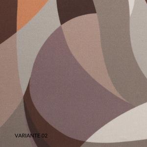 Set Completo Lenzuola Matrimoniale con Fodere per Cuscino 50x80, Decorazione Fantasia Digitale, Morbido 100% Raso Puro Cotone Naturale, Tessuto Anallergico | EDAM