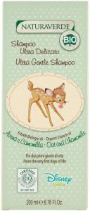 Shampoo delicato Natura Verde Bio 200 ml