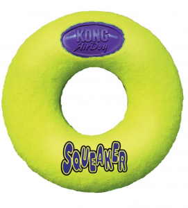 Kong - AirDog Squeaker Donut - M