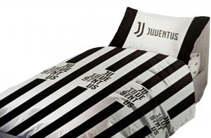 Completo Letto matrimoniale in cotone Prodotto Ufficiale Juventus