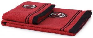 Coppia asciugamani 1+1 AC Milan