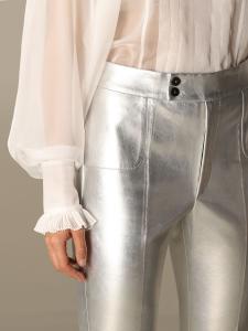 Pantalone argentato philosophy di lorenzo serafini