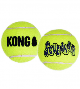 Kong - AirDog Squeaker Tennis Ball - L