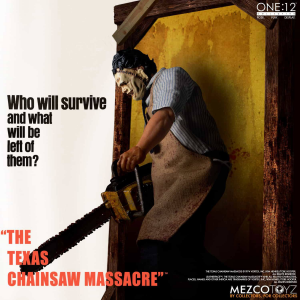 *PREORDER* Texas Chainsaw Massacre: LEATHERFACE DELUXE EDITION by Mezco Toys