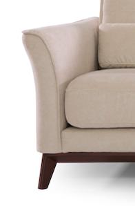 CHIFF - Divano angolare in tessuto tecnico antigraffio e antimacchia comodo e dal design intramontabile