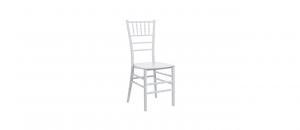 Sedia bianca in policarbonato cm.39x39x70h