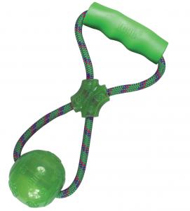 Kong - Squeezz Ball con Maniglia - M