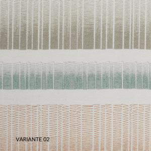 Set Lenzuola, Copripiumino e/o Trapunta Matrimoniale, Decorazione a Righe, Morbido 100% Puro Cotone Naturale, Tessuto Anallergico | VALENCIA