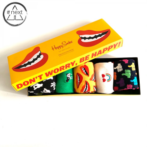 Happy Socks - Don´t Worry, Be Happy - Gift Box 5-Pack