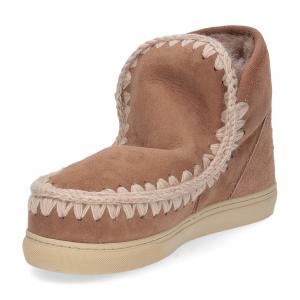 Mou Eskimo sneaker pink brown-4
