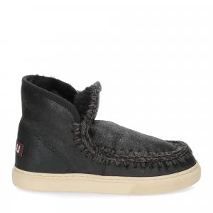 Mou Eskimo sneaker cracked black grey-2