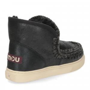 Mou Eskimo sneaker cracked black grey-5