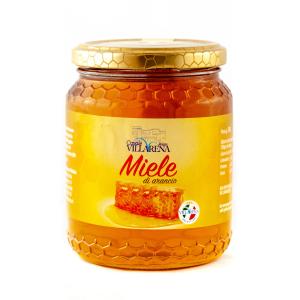 Orange Organic Honey