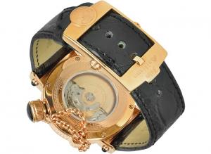 Orologio uomo John Galliano. Automatico. Diamanti.