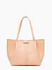 Borsa shopping media in pelle colore skin rose - PATRIZIA PEPE