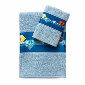 Coppia asciugamani 1+1 Gormiti
