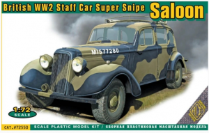 British WW2 Staff Car Super Snipe Saloon