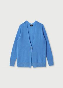 LIU JO MAGLIERIA CF0161MA86J Cardigan ecosostenibile in misto lana e cashmere