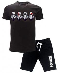 Completo Fortnite T-shirt con pantaloncino misure da 12 a 16 anni