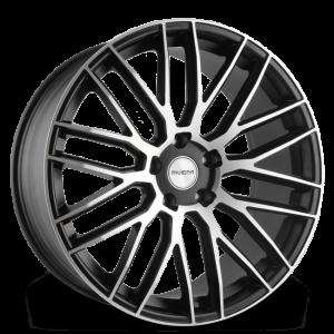 Cerchi in lega  RIVIERA  RV126  22''  Width 10   PCD Custom  ET 45  CB 66.4    Gloss Black Machined