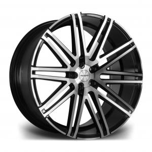 Cerchi in lega  RIVIERA  RV120  22''  Width 9   PCD Custom  ET disponibili da 15 a 45  CB 73.1    Black Polished