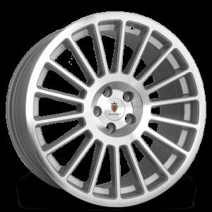 Cerchi in lega  STUTTGART  ST2  18''  Width 8,5   5X112  ET 40  CB 73.1    Silver Polished
