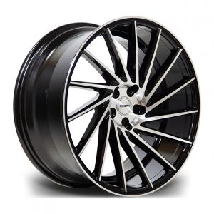 Cerchi in lega  RIVIERA  RV135  19''  Width 8,5R   PCD Custom  ET disponibili da 15 a 45  CB 73.1    Black Polished