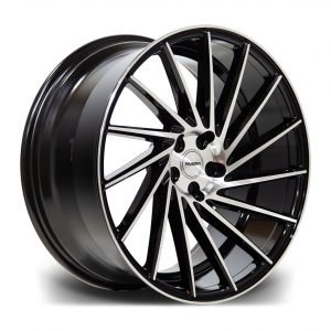 Cerchi in lega  RIVIERA  RV135  19''  Width 9,5R   PCD Custom  ET disponibili da 15 a 45  CB 73.1    Black Polished