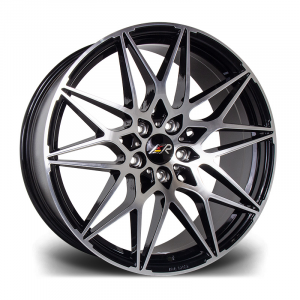 Cerchi in lega  LMR  TORIA  20''  Width 8,5   5X120  ET 45  CB 65.1    Black Polished