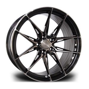 Cerchi in lega  RIVIERA  RF107  20''  Width 10   5x112  ET 35  CB 72.6    Black Polished Dark Tint