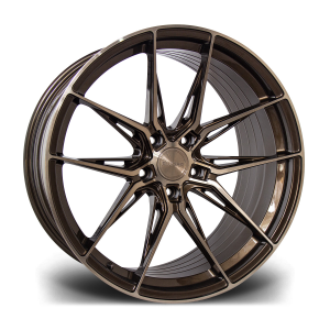 Cerchi in lega  RIVIERA  RF107  20''  Width 10   PCD Custom  ET disponibili da 15 a 45  CB 72.56    Bronze Double Dark Tint