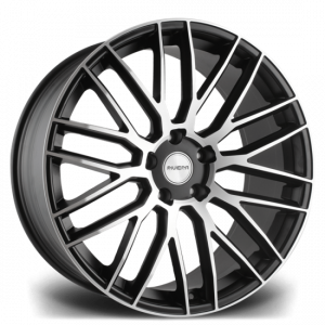Cerchi in lega  RIVIERA  RV126  22''  Width 10   PCD Custom  ET 45  CB 74.1    Gloss Black Machined