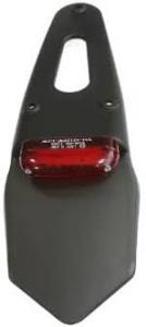 02-0310 PORTATARGA VYPER FANALE ROSSO LED MOTOCICLI