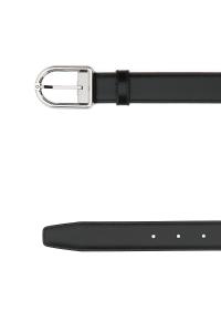 Cintura reversibile Montblanc con fibbia ad ardiglione in palladio e rutenio