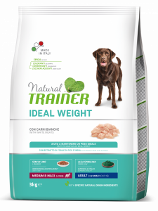 Trainer Natural - Medium&Maxi - Ideal Weight - Carni Bianche - 3 kg