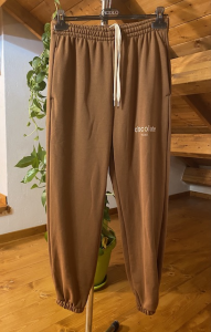 Pantaloni In felpa Vicolo Vanilla  Dusty Rose  Amethyst  Graphite e Chocolate