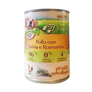 DISUGUAL - PROFESSIONAL PETS UMIDO POLLO AROMA SALVIA E ROSMARINO 400 GR