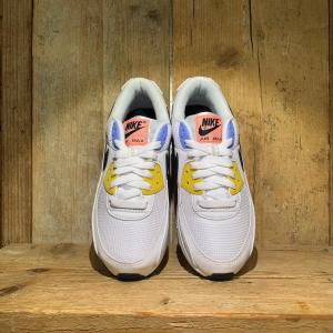 Scarpa Nike Air Max 90 Bianca con Inserti Colorati